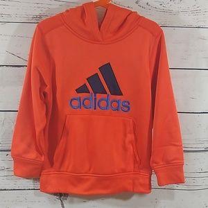 🧡Neon Orange Adidas Hoodie
